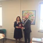 Comune Cosenza: visita del Console generale di Romania a Bari