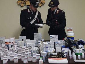 'Magazzino' di farmaci vietati nel Reggino, un arresto