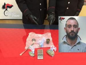 Montepaone: Marijuana e bilancino, arrestato ex sorvegliato speciale