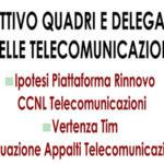 Telecomunicazioni: Slc Cgil Calabria attivo quadri e delegati
