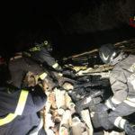 Casolare in fiamme nel Catanzarese, nessun ferito
