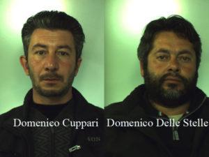 Armi e munizioni in un casolare a Candidoni, due arresti