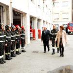 Catanzaro: Prefetto Ferrandino vista comando provinciale Vigili Fuoco