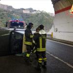 Incidente stradale: Suzuki Vitara JLX si ribalta, un ferito