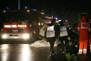 Incidenti stradale: donna salva figli e muore nel Vibonese
