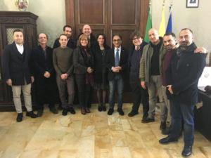 Catanzaro: Abramo e Russo danno il benvenuto ai 9 nuovi dipendenti assunti