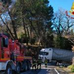 Girifalco: recuperato autoarticolato in località Montecovello