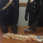 Droga: hashish nella 24 ore, catanzarese arrestato nel Cosentino
