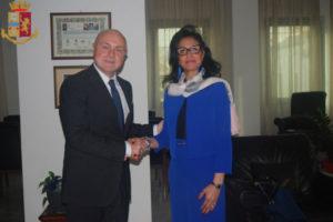 Questura Reggio: Questore Grassi riceve il Console della Tunisia