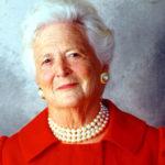 Addio a Barbara Bush, moglie e madre di un presidente