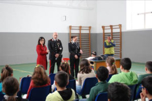 Carabinieri Reparto Biodiversità  Reggio C. incontrano studenti Palmi