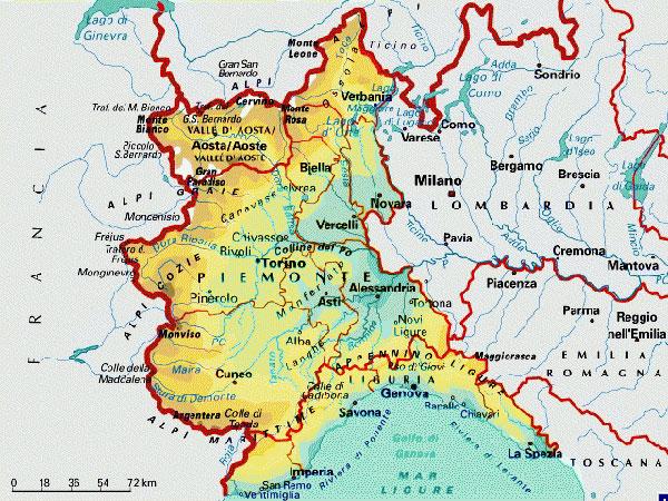 Cartina Piemonte Torino.Cartina Piemonte Lamezia Oggi