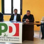 Circoli Pd: incontro dibattito a Villa San Giovanni