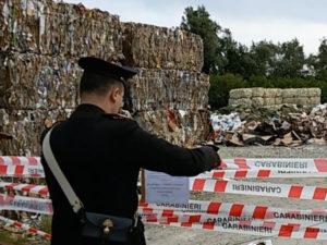 Rifiuti: discarica sequestrata dai Carabinieri ad Oppido Mamertina