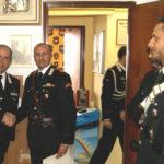 Consegna encomi ai militari dell'Arma dei Carabinieri