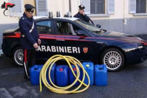Rubano gasolio da automezzi, due arresti nel Catanzarese