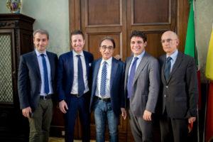Catanzaro: Sindacco Abramo incontra Presidente Camera Commercio