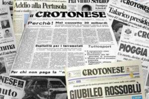 """Giornalisti: e' morto Napolitano, fondatore de """"il Crotonese"""""""