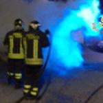 Auto in fiamme nella notte a Catanzaro, indagini su causa
