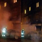 Incendio Autovetture, panico abitanti vicino stabile Isca Jonio