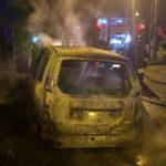 Incendi: Fiat Idea distrutta dalla fiamme nel Catanzarese