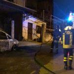 Lamezia: Fiat Panda 4x4 distrutta da un incendio a Fronti