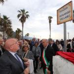 """Piazza Rosario Villari a Bagnara, Oliverio """"un grande calabrese"""""""