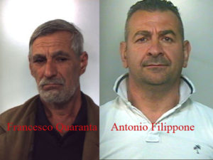 Criminalita': due arresti dei carabinieri a Gioia Tauro