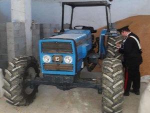 Rubati e subito ritrovati trattori Comune Isola Capo Rizzuto