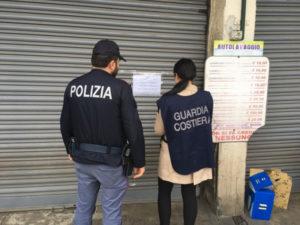 Sicurezza: controlli nel Reggino, autolavaggio sequestrato a Palmi