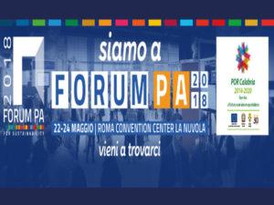 Pa: Forum 2018 a Roma, la Regione partecipa