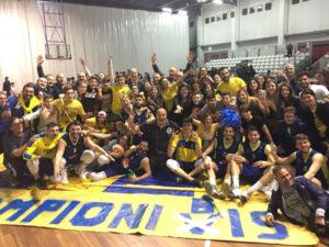 Pallacanestro: il Basketball Lamezia e' campione!