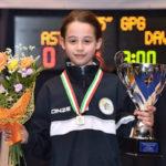 Circolo scherma lametino vice campione d'italia con Gloria Davoli