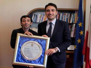 Regione: Irto ha ricevuto l'attore Marcello Fonte