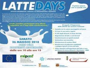 """Catanzaro: """"Latte Days"""" al Parco della Biodiversità"""