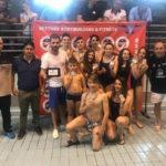 In 200 al Poligiovino per 1^ Tappa  Meeting Regionale  Nuoto Csen