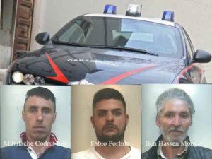 Sicurezza: controlli dei Carabinieri di Gioia Tauro, tre arresti