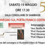 """Lamezia: Franco Costabile, i tumulti interiori di un poeta del Sud"""""""