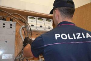Furto di energia elettrica, 5 arresti della Polizia a Catanzaro