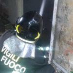 Casolare disabitato in fiamme a Gagliano di Catanzaro
