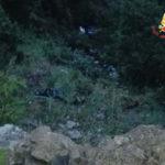 Incidenti stradali: Ford Kuga si ribalta sulla stradale statale 159