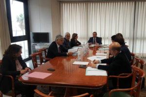 Area dello Stretto: riunione presidenza conferenza interregionale