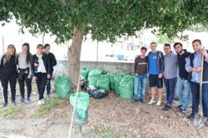 Reggio: Gioventù Nazionale avvia primo intervento Parco Viale Vittoria