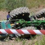 Uomo muore schiacciato da trattore a San Pietro in Guarano