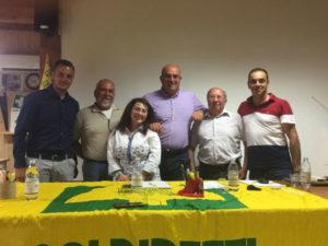 """Coldiretti: Franco Fazio presidente soci comuni del """"Reventino"""""""