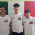 Tre atleti del consorzio VolleYnsieme al torneo delle regioni