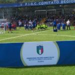200 bambini alla festa regionale Fun football piccoli amici