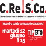 Lamezia: al Tip Teatro il direttivo C.Re.S.Co