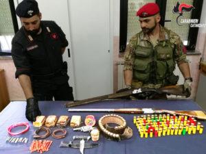 Arrestato 50enne trovato in possesso di bomba a mano da guerra