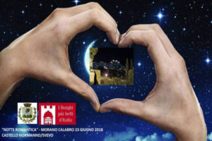 """Al castello di Morano, la terza edizione della """"Notte romantica"""""""